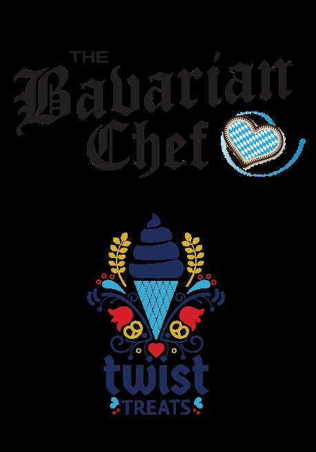 Bavarian Chef and Twist Treats logos